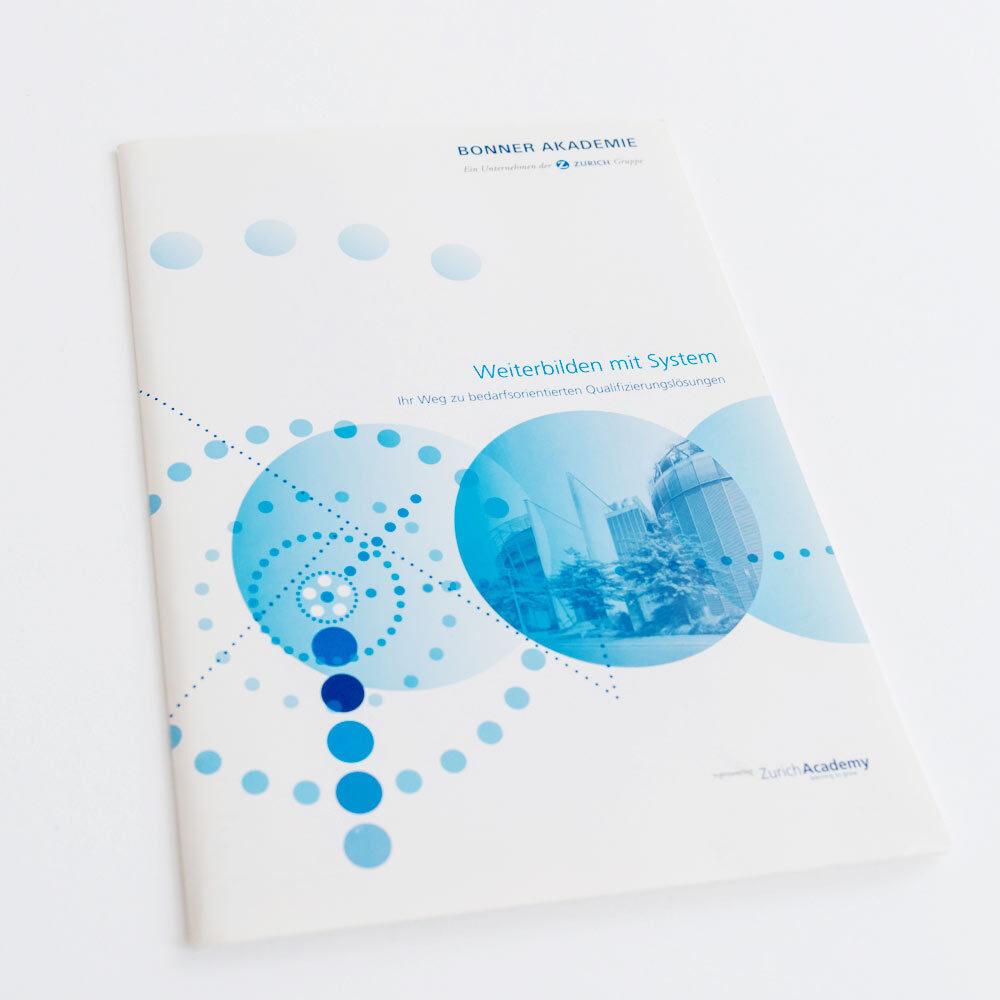 Folder, Kataloge und Broschüren